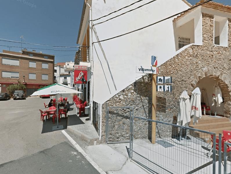 #ARUEDABIKE Bar el Hogar Villamalur